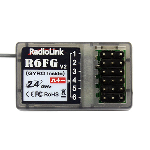 Image 4 - Radiolink R6FG V2 2.4GHz 6 CH FHSS Receiver High Voltage Gyro Integrated For RC4GS RC3S RC4G T8FB RC6GS Transmitter RC Car Boat