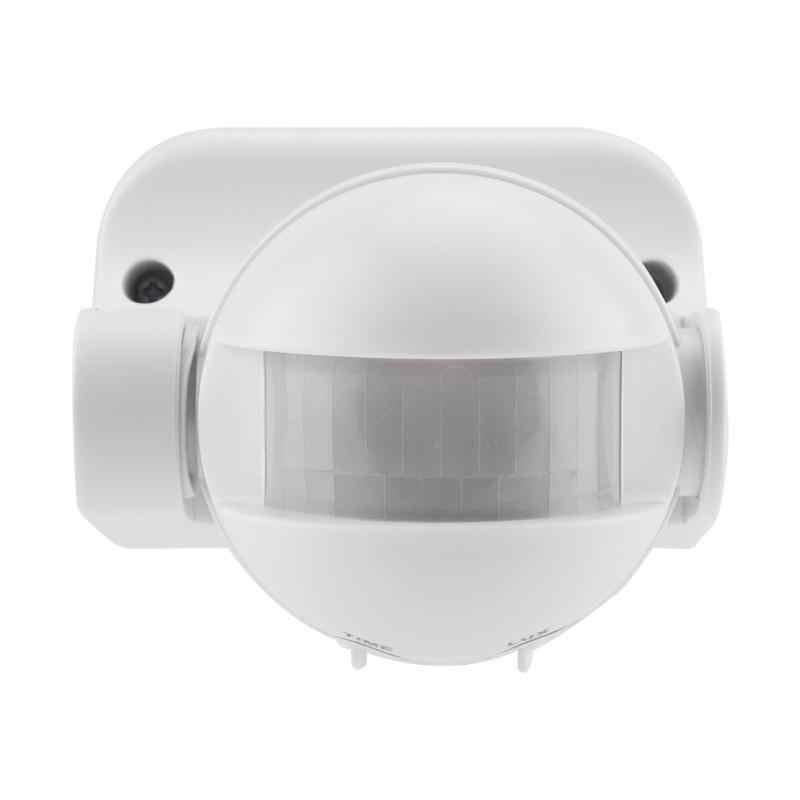 AC110-240V сенсор переключатель 10A регулируемый угол Автоматический Инфракрасный свет сенсор переключатель индукции человеческого тела