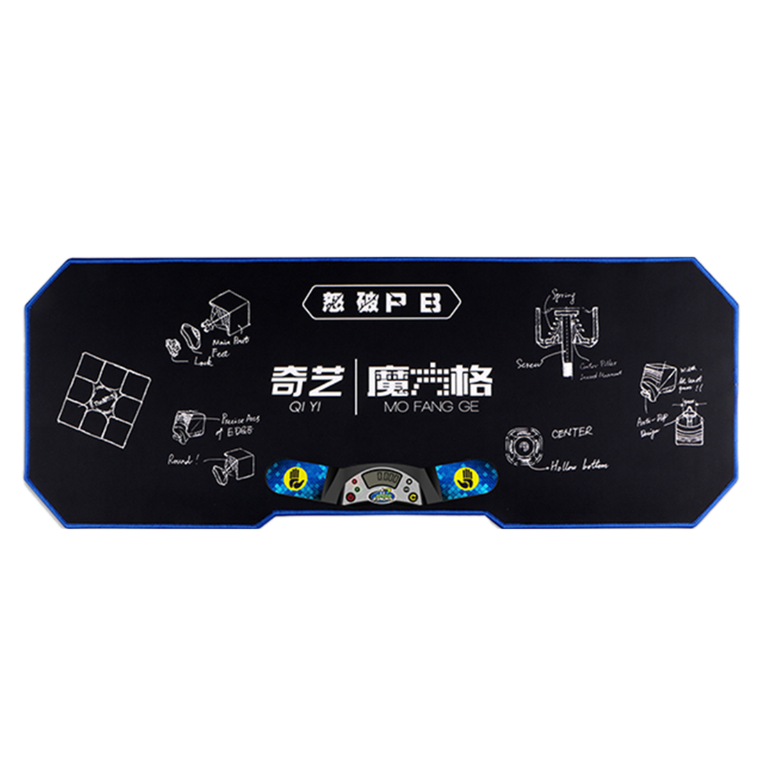 Qiyi Speedcube Large Mats For Magic Cube Competition Accessories