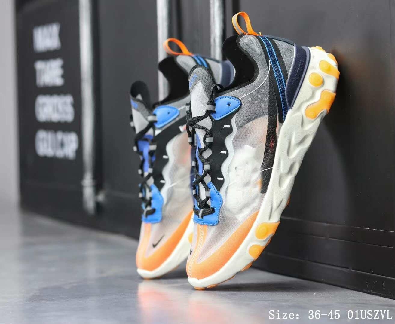 Air 270 hommes chaussures baskets femmes baskets de course 2019 sport baskets hommes Vapormax Tn Plus 2 Max chaussures réagir élément 87