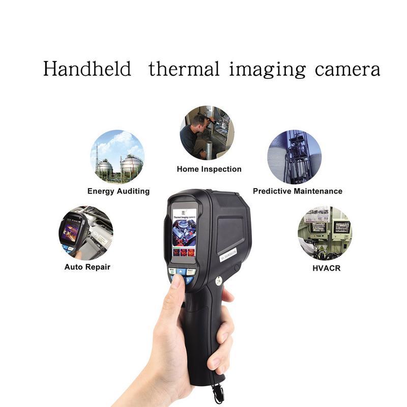 Caméra infrarouge tenue dans la main de caméra d'imagerie thermique tenue dans la main HT-04 imageur thermique de Pixel élevé
