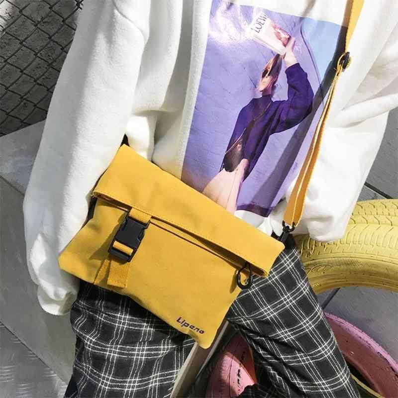 e74fbc695293 ... Fashion Women Men Shoulder Bags Simplicity Canvas Small Unisex Crossbody  Bag Soft Medium Size Messenger Bag ...