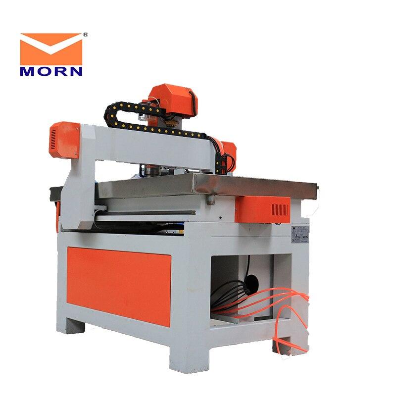 MORN Mini routeur automatique changeur d'outils 1.5KW broche refroidissement par eau 3 axes publicité CNC routeur pour métal, acrylique, MDF - 4