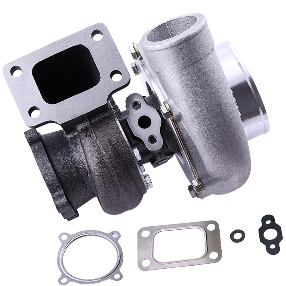 GT3582 GT35 GT3582R Turbo chargeur. 70 Compresseur Logement 0.63 A/R T3 Bride 600 pour R32 R33 R34 RB25 RB30 T3. 70. 63 A/R 4 boulon