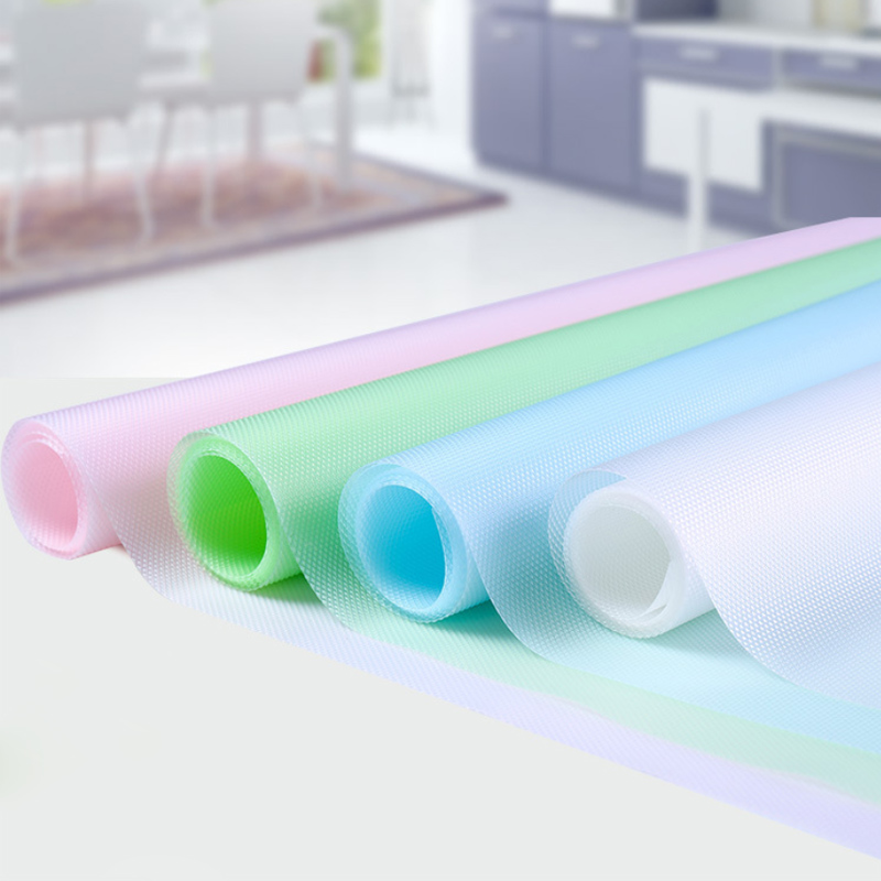 30*150cm Kitchen Table Mat Waterproof Moisture-proof Drawers Cabinet Shelf Liners Non Slip Cupboard Placemat Food Pad