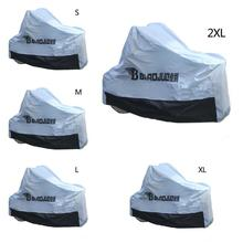 High-end Protective Motorcycle Cover Aluminum Foil Electric Thickening Ultraviolet Rays Waterproof Sunproof Burglarproof