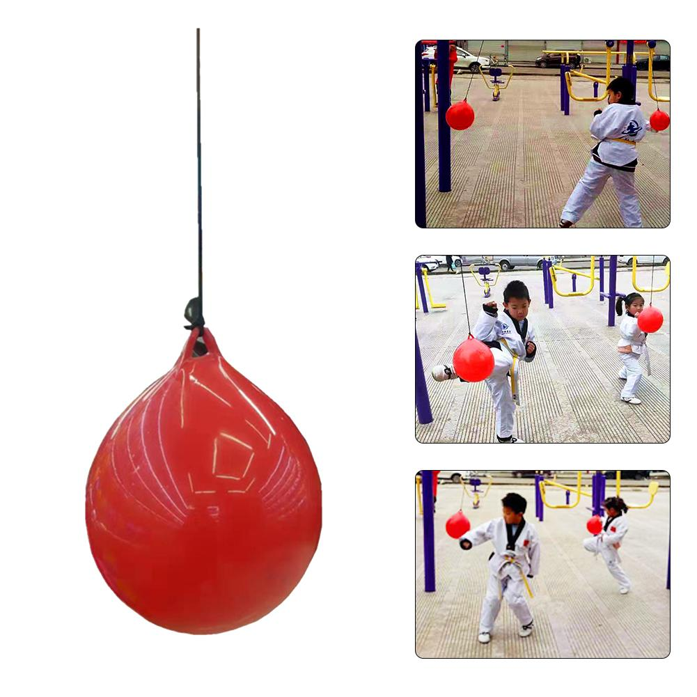 New Elasticity Water Injection Training Bag Hoisting Boxing Bag Exercise Fitness Adjusted Boxing Ball Wear Resistant Speed Ball