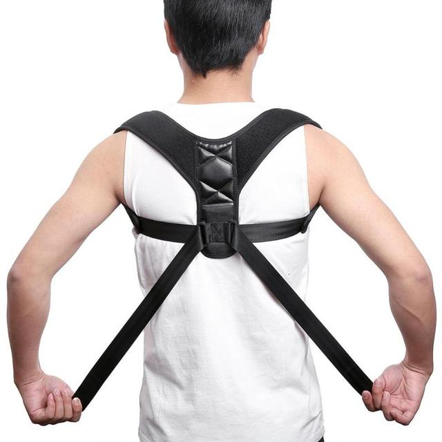 Brace Support Belt 45g Adjustable Clavicle Spine Lumbar Posture Corrector correct and relieve pain regardless of age