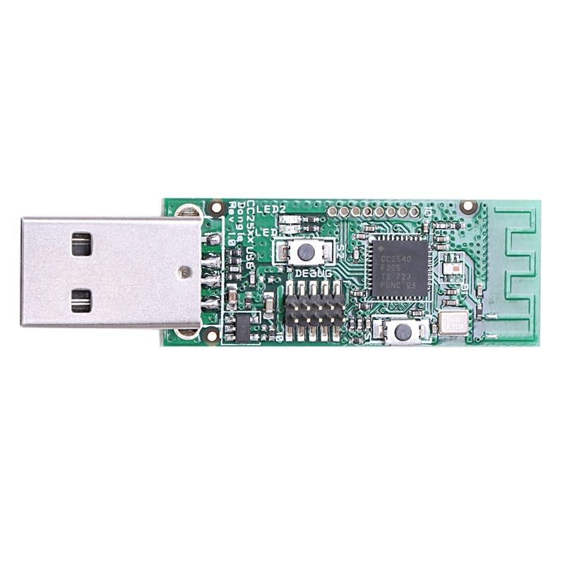 Placa rastreadora inalámbrica Bluetooth 4,0 Ble Cc2540 interfaz Usb Dongle protocolo paquete Módulo de depuración Zigbee El más nuevo 1080P Anycast m4plus TV Dongle 2 reflejo múltiples TV stick adaptador Mini Android cromo fundido Dongle WiFi HDMI cualquier fundido
