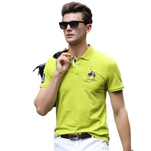 Image 3 - Men Summer New Brand Cotton Classic Casual Embroidery Polo Shirts Men Business Short Sleeve Stand Collar Tops&Tees Polo Shirt
