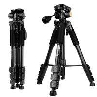Q111 Professional Portable Travel Aluminum Camera Tripod Pan Head For Digital Camera
