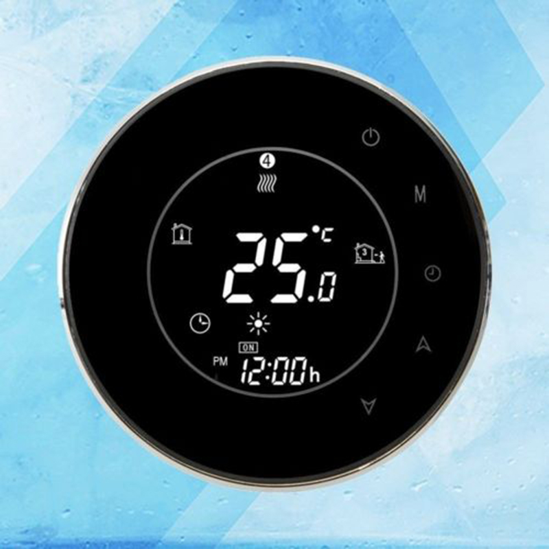 BHT-6000-GBLW Smart Wifi Thermostat Energy Saving 7 Day Programmable Touchscreen Temperature Controller For Electric Heating