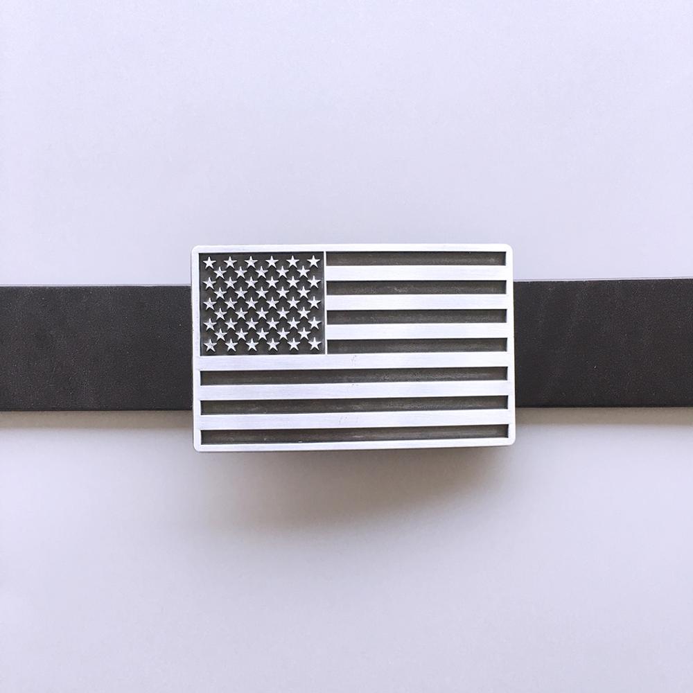 Men Belt Buckle Yin Yang Taiji Flag Belt Buckle also Stock in US