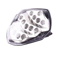 Clear For Suzuki GSXR1000 K3 2003 2004 LED Integrated Turn Signal Brake Tail Light