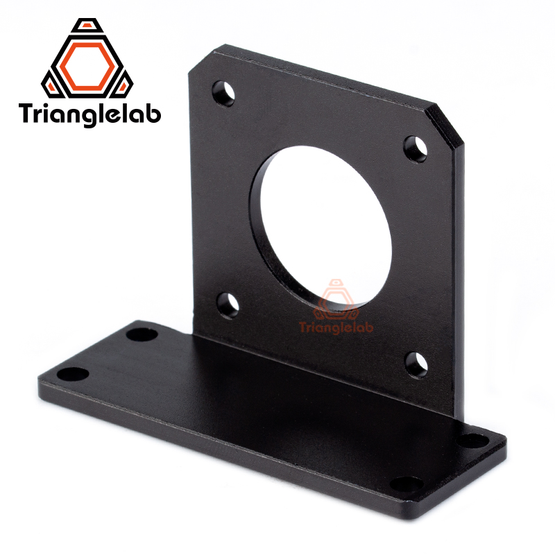 Trianglelab Black  Aluminium Alloy BMG Bracket Support  Nema17 Motor Mount Bracket For BMG Extruder Tian Extruder Aero