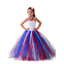 Independence day summer girls clothes 4th of july dress girl christmas princess costume toddler thanksgiving dresses casual