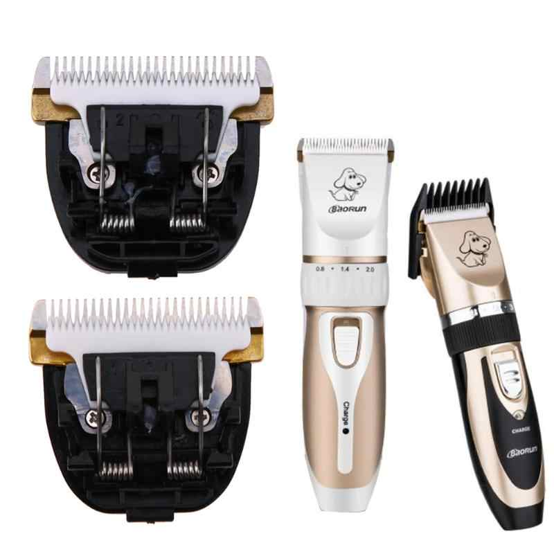 2019 New Professional Pet Dog Cat Hair Clipper Blade Cut Head Hair Trimmer Stainless Steel Ceramics Hair Grooming Blade Cut Head