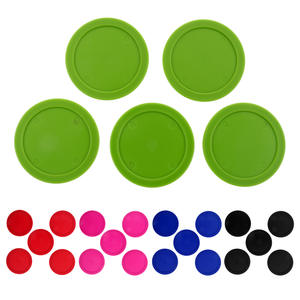 Pucks-Choice Table-Game Air-Hockey Plastic 5pieces 62mm Entertainment of Durable Colors