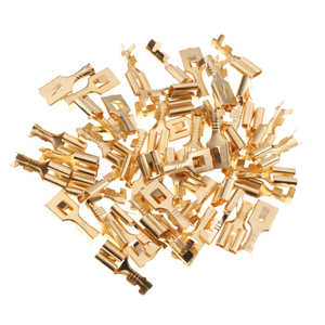 Image 5 - 20 piezas de soportes de enchufe de relé de 5 pines automotrices con terminales de cobre de 6,3mm