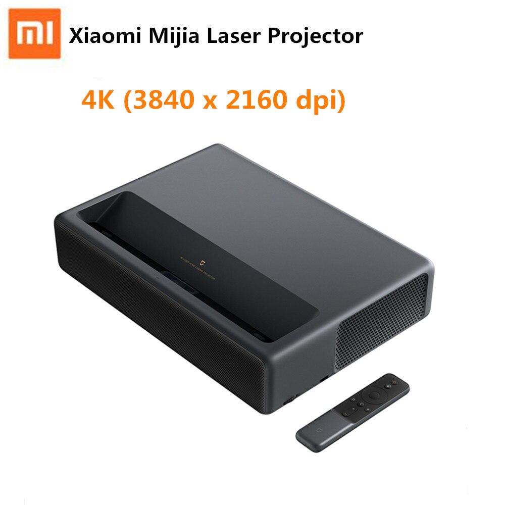 D'origine Xiaomi Mijia Laser Projecteur De Projection TV Full HD 4 K Home Cinéma Focale Courte 5000 lumens Wifi Bluetooth 3D projecteur