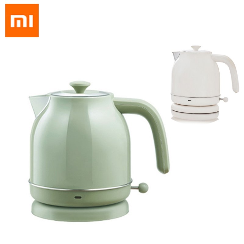 XIAOMI OCOOKER Youpin 17L  1800W Retro Electric Kettle Stainless Steel Water Kettle Without Watch Style GreenWhite Color-in Electric Kettles from Home Appliances on Aliexpresscom  Alibaba Group