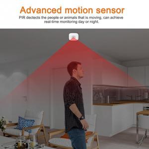 Image 3 - Capteur de mouvement PIR, wi fi, pour maison connectée, détecteur de sécurité sans fil infrarouge, capteur dalarme anti cambriolage