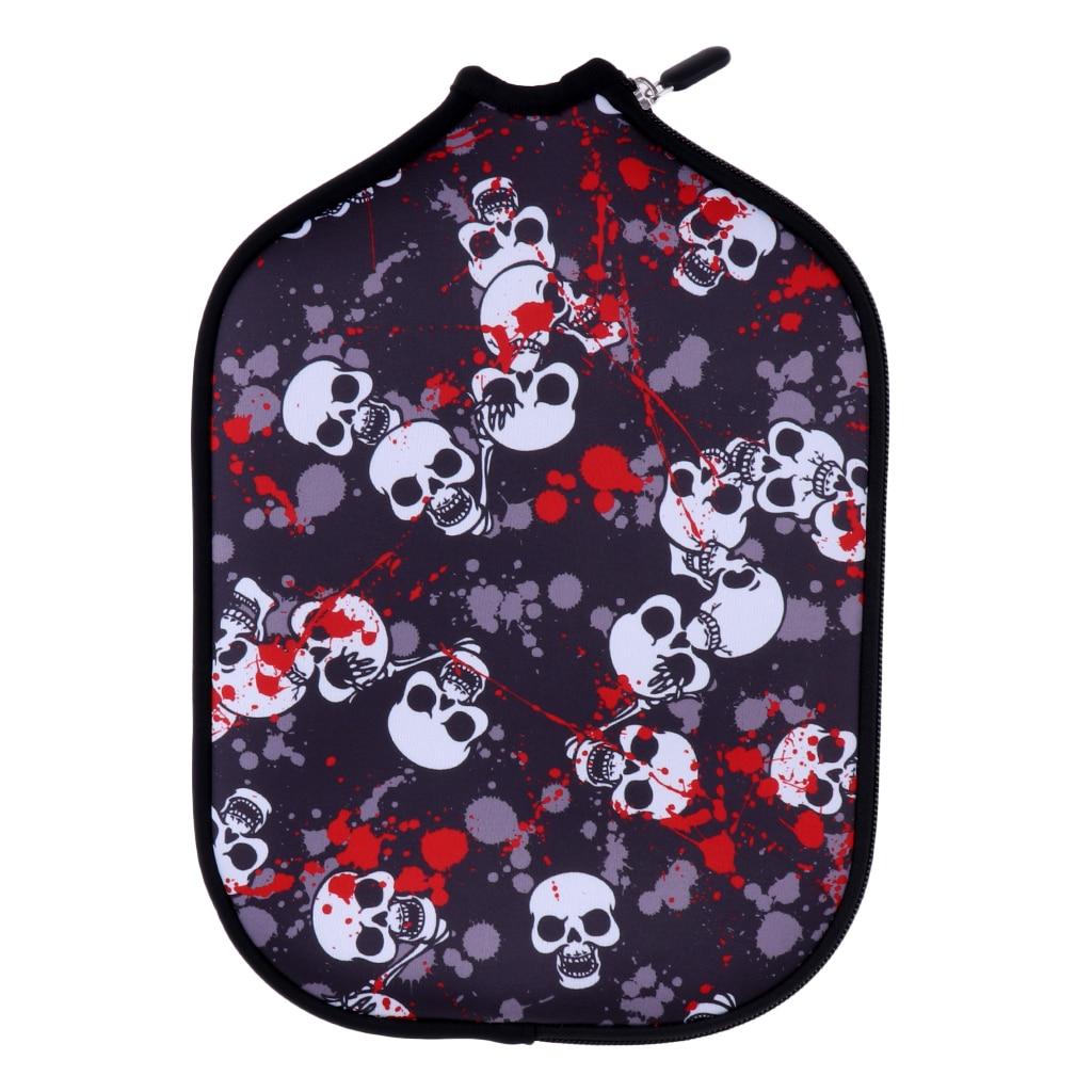 Konstruktiv Premium Neopren Pickleball Paddle/schläger Abdeckung Zipper Schutzhülle Lagerung Halter Hülse Tasche Zubehör-verschiedene Farben