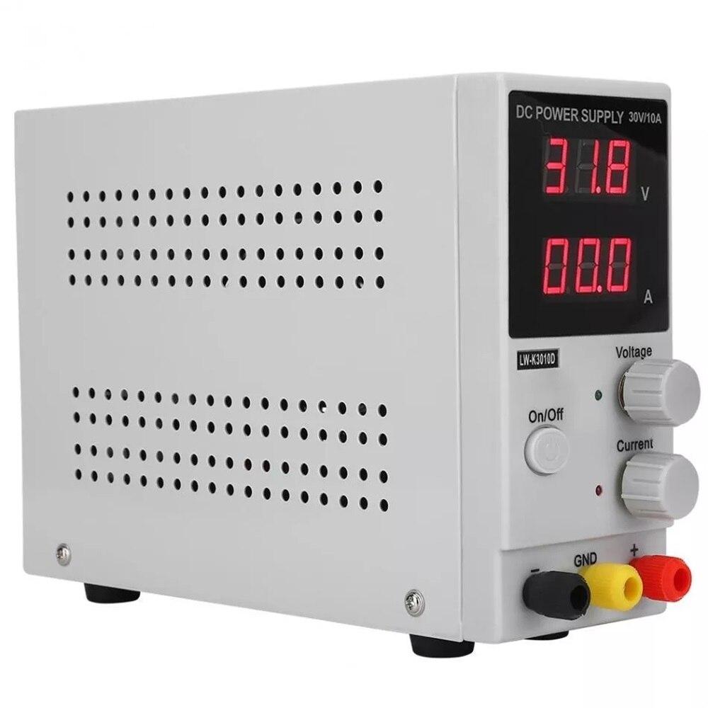 Régulateur de tension d'alimentation réglable en LW-K3010D 30 V 10A DC contrôleur de alimentation LED numérique 110 V/220 V