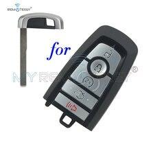 Чехол для смарт ключа remtekey 5 кнопок ford edge fusion 2017