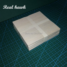 AAA+ Balsa Wood Sheets 100x100x2.5mm Model Balsa Wood Can be Used for Military Models etc Smooth DIY  free shipping 100x100x6mm aaa balsa wood sheets model balsa wood can be used for military models etc smooth diy model material
