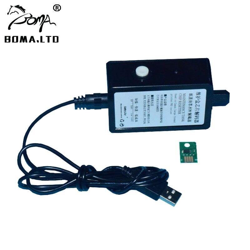 BOMA. LTD MC-30 réinitialisation des puces de réservoir de Maintenance pour Canon PRO 560 S 540 540 S 520 6000 S PFI 8110 8310 8710 4000 4000 S 2000 imprimante