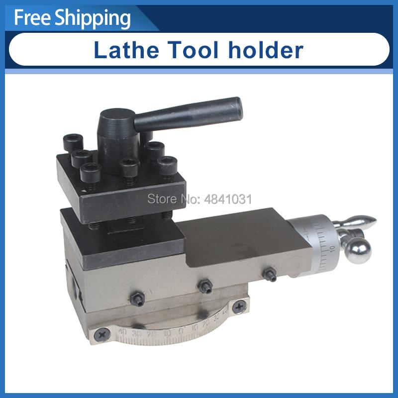 SIEG Lathe Tool holder C2 SC2 C3 Machine tool slide Slide rest Compound Rest Assembly