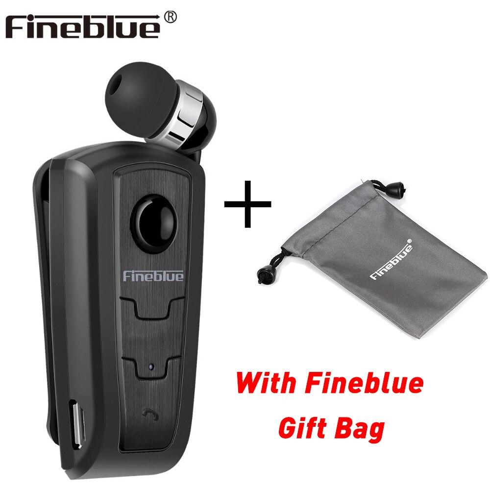 Fineblue F910 с портативный сумка костюм беспроводной Bluetooth 4,0 средства ухода за кожей Шеи клип телескопическая Тип бизнес гарнитура спортивные с...