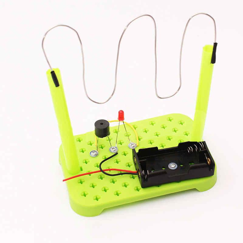 1 set Circuit Electronics Kit Kids Children Science Educational Toy DIY circuit model Discovery toys Random Color