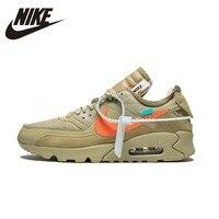 NIKE AIR MAX 90 оригинальный для мужчин s кроссовки дышащие удобные стабильность обувь суперлегкие кроссовки для мужчин обувь