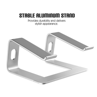 S5 Laptop Stand Holder Aluminum Desktop Holder Notebook PC Computer Stand Secure and sturdy for MacBook