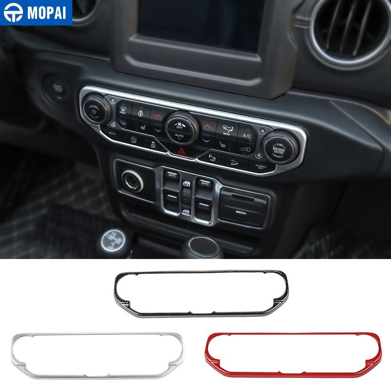 Silver Car Door Lock Switch Button Cover Decoration Stickers for Jeep JL Wrangler 2018 Up BORUIEN Interior Mouldings for Jeep Wrangler JL 2018