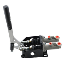 ESPEEDER Universal Car Racing Hydraulic Drift Handbrake Vertical Horizantal Lever E-Brake Double Cylinder Hand Brake