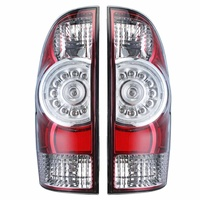 Car LED Tail Light Brake Lamp Drl Accessories Taillight for Toyota Tacoma Pickup 2005 2006 2007 2008 2015 8156004160 8155004150