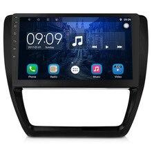 Просвет 2Din Авторадио дюймов 10 дюймов Android 6,0 сенсорный экран автомобильный мультимедийный плеер gps Навигация BT для 12-15 Volkswagen Sagitar