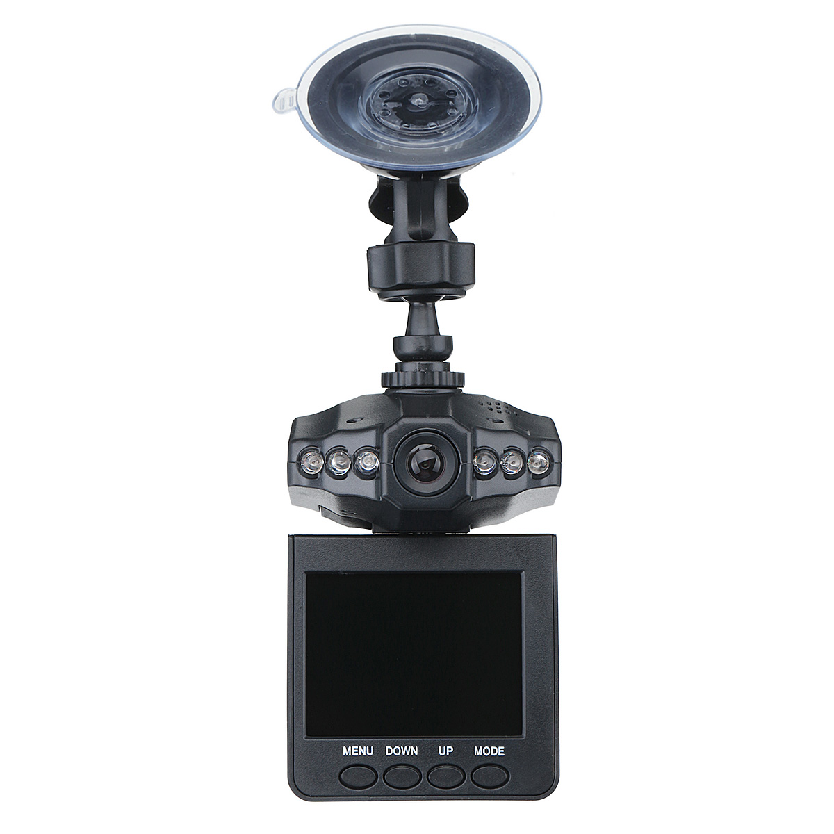 DVR Dashboard Recording Car-Camera View 6-Lights Full-Hd 1080p Loop with Wide-Angle