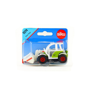Free Shipping/Siku 1074 Toy/Diecast Metal Model/Claas Targo Bulldozer Tractor/Educational Collection/Gift For Children/Small фото
