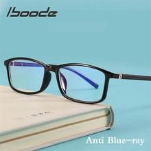 Iboode анти голубой луч класса для мужчин компьютерные очки игры блокировка синий светильник излучения очки женщин