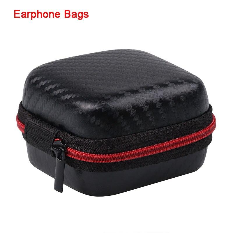 Earphone Holder Case Storage Carrying Hard Bag Box Case For Earphone Headphone Accessories