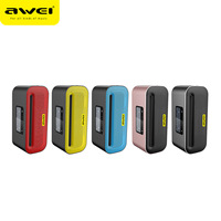 AWEI Y600 10W Outdoor Subwoofer Bluetooth Speaker NFC Wireless Metal Bluetooth Speaker 2600mah Large Capacity Handree FM Speaker