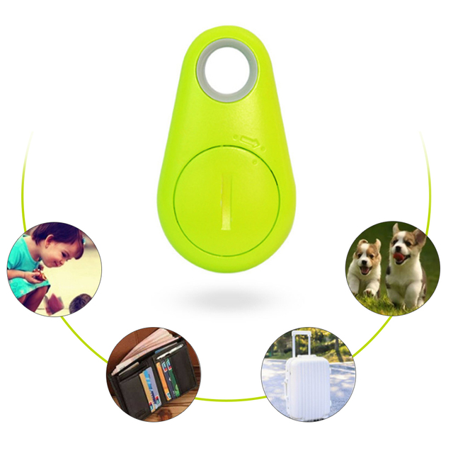 Alarm Key Child Pet Finder Mini GPS Tracking Device Auto Car Pets Kids Motorcycle Locator with Battery Anti-lost Tracker