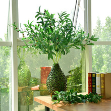 Simulating 6-fork and 10-fork olive branches with fruit false leaves for wedding decoration accessories to simulate plant green