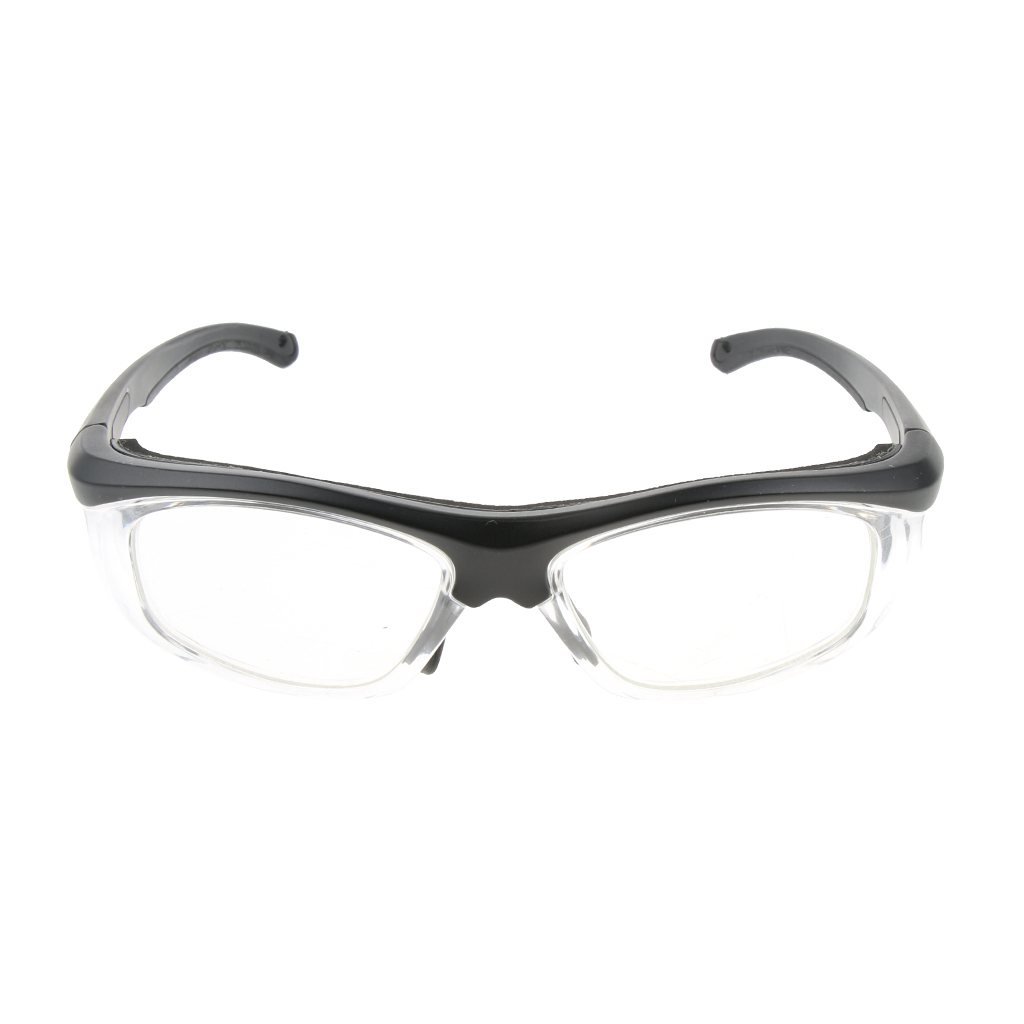Lab Safety Protective PPE Glasses Goggles Optical Lens Replaceable Black