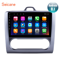 Seicane Quad core 9 inch Android 7.1/8.1 Head Unit Player for 2004 2011 Ford Focus Exi AT With Mirror Link Car GPS Navi Stereo