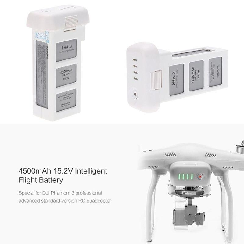 4500mAh 15,2 V 4S Профессиональный Интеллектуальный летный Аккумулятор для DJI Phantom 3 - 3